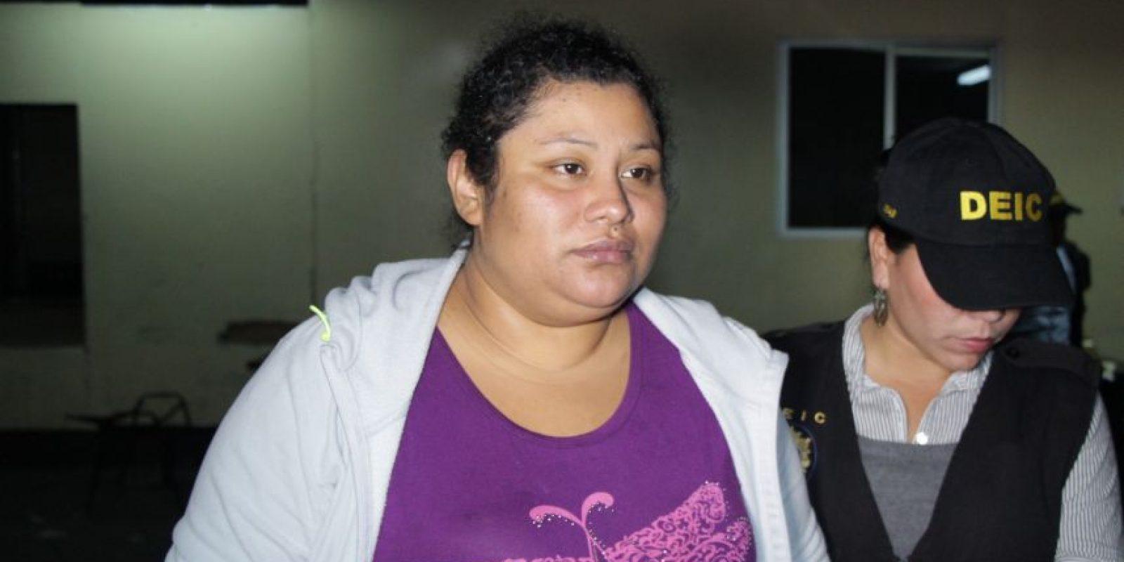 La nicaragüense Kenia Del Socorro Sánchez Ruiz, de 27 años. Foto:PNC
