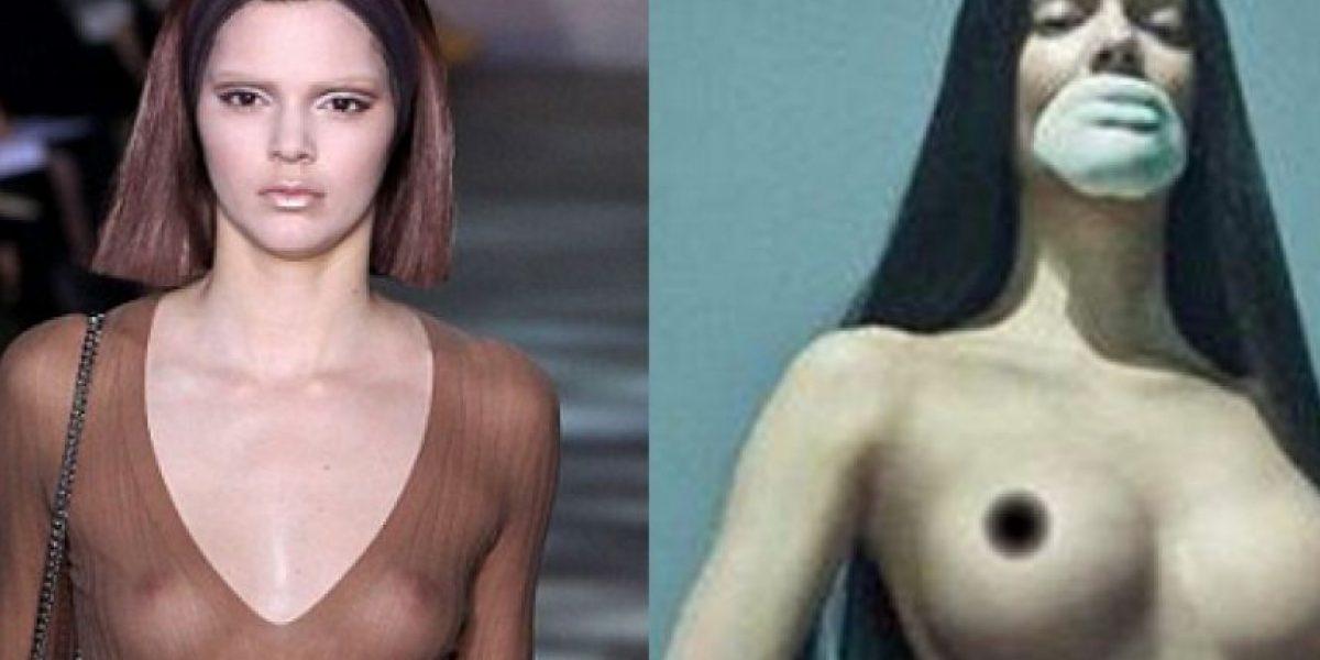 FOTOS: El polémico y atrevido topless de Kendall Jenner... ¿demasiado Photoshop?