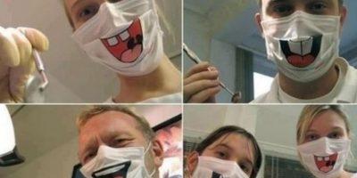 Odontólogos sonrientes Foto:Imgur
