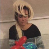"La muy falsa ""Elsa"" Foto:Twitter"