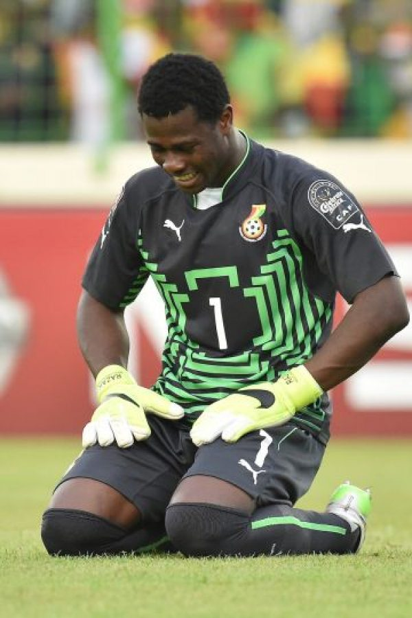 Razak en una participación con la Selección de Ghana. Foto:AFP