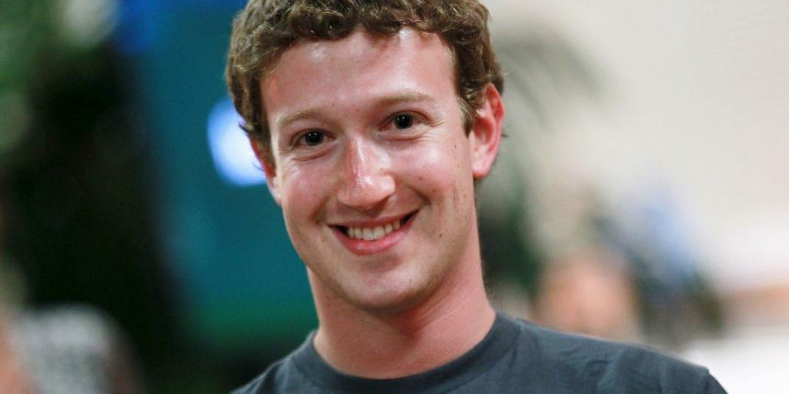 En la foto: Mark Zuckerberg, creador de Facebook. El estudio sugiere que este tipo de personas pueden transmitir mediante su cara características de ambición. Foto:Getty Images