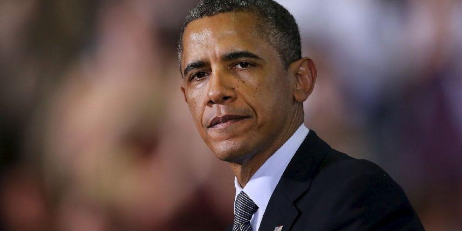 Tal como el mandatario estadounidense Barack Obama Foto:Getty Images