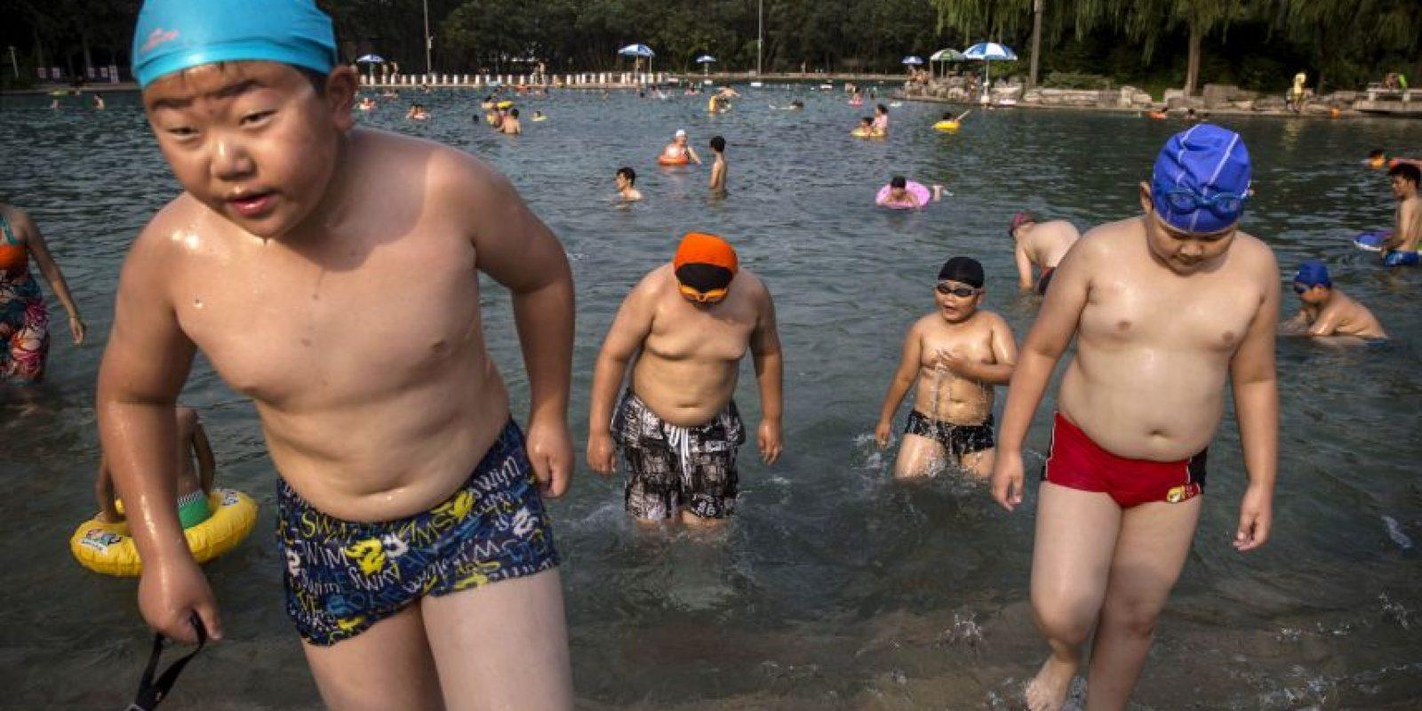 Para que puedan nadar sin ayuda, la media de tiempo varía mucho de un niño a otro. Foto:Getty Images