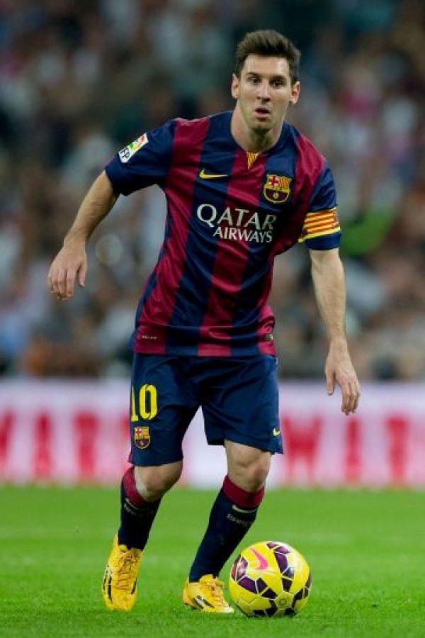 Lionel Messi también presenta una distancia corta entre los ojos Foto:Getty Images