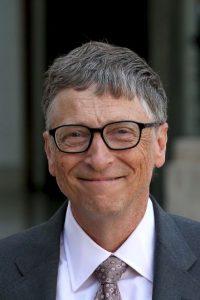 En la foto: Bill Gates, cofundador de Microsoft. Otra característica de los rostros exitosos es que poseen una cara delgada. Foto:Getty Images