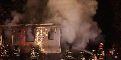 3 de febrero: Por la noche, seis personas perdieron la vida en un accidente en el Metro en Nueva York Foto:AP