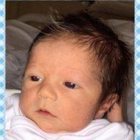 La primera imagen del rostro del niño Foto:http://www.worldbabyshower.org/es