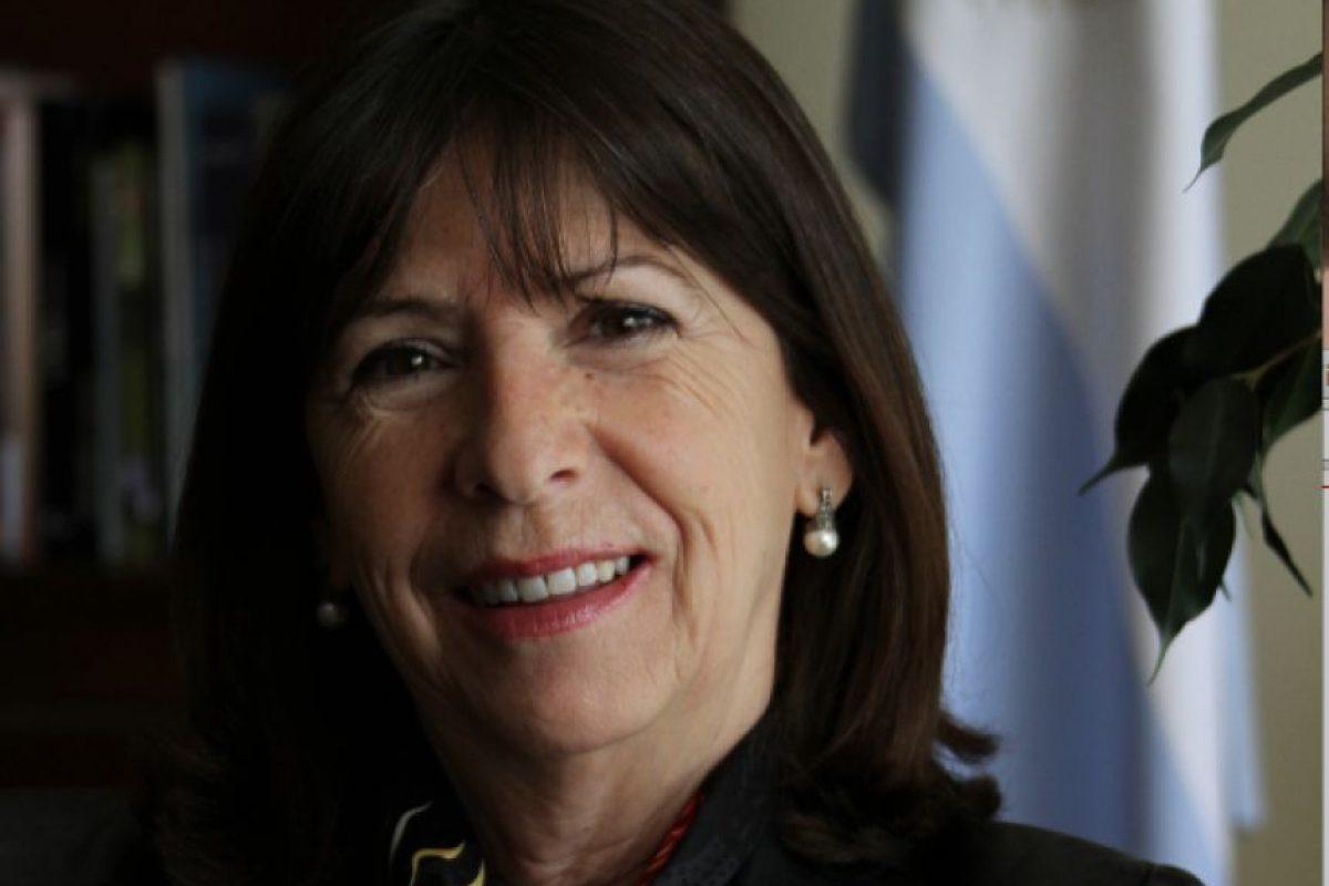 La embajadora de Argentina, Patricia Vaca Narvaja. Foto:Nicolás Corte / Publimetro