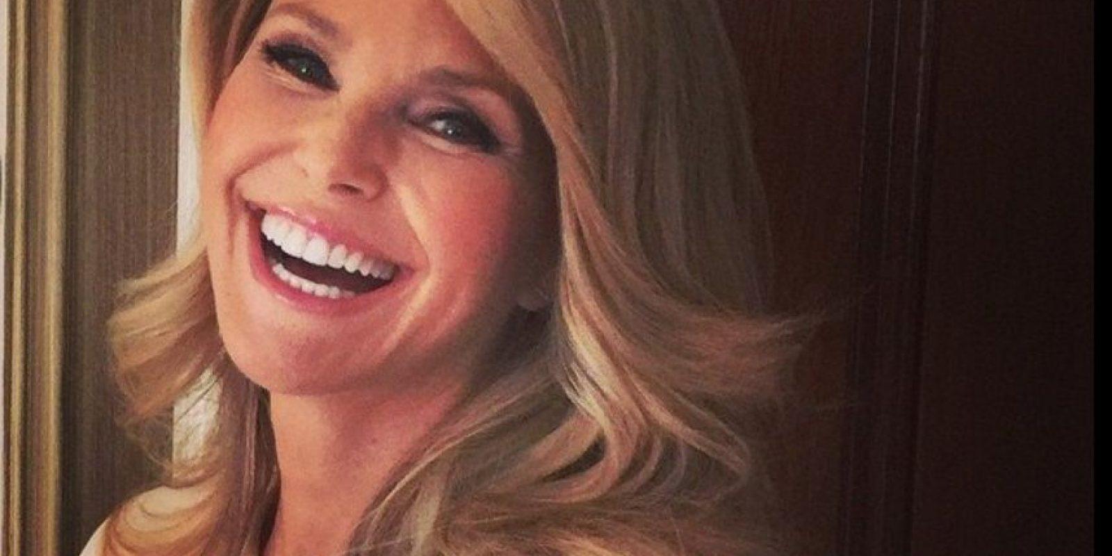 Uno de sus esposos fue Billy Joel Foto:Christie Brinkley/Facebook