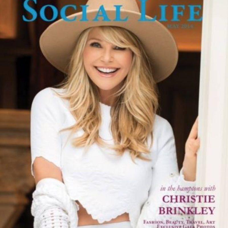 Y por qué es mejor que muchas modelos que tienen el doble de su edad. Foto:Christie Brinkley/Facebook