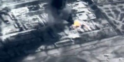 También se muestran los bombardeos realizados. Foto:Captura de pantalla