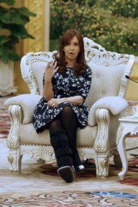 La mandataria ha enfrentado últimamente críticas por parte de la prensa argentina. Foto:AP