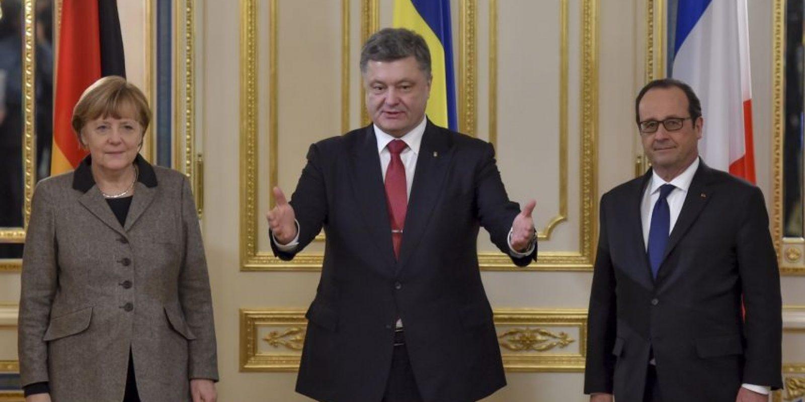 El propósito es lograr un inmediato cese el fuego entre el ejército ucranio y las milicias separatistas. Foto:AP