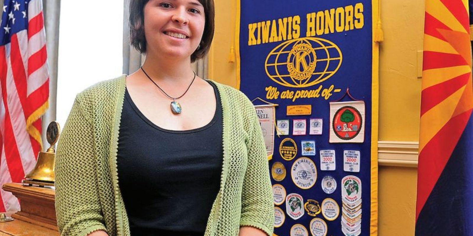 La joven de 26 años llegó en 2012 a la frontera de Turquía y Siria para ofrecer ayuda humanitaria. Foto:AFP