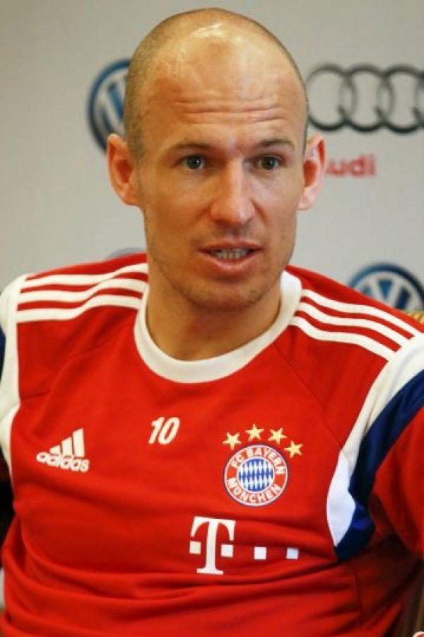 Arjen Robben – Holanda Foto:Getty Images
