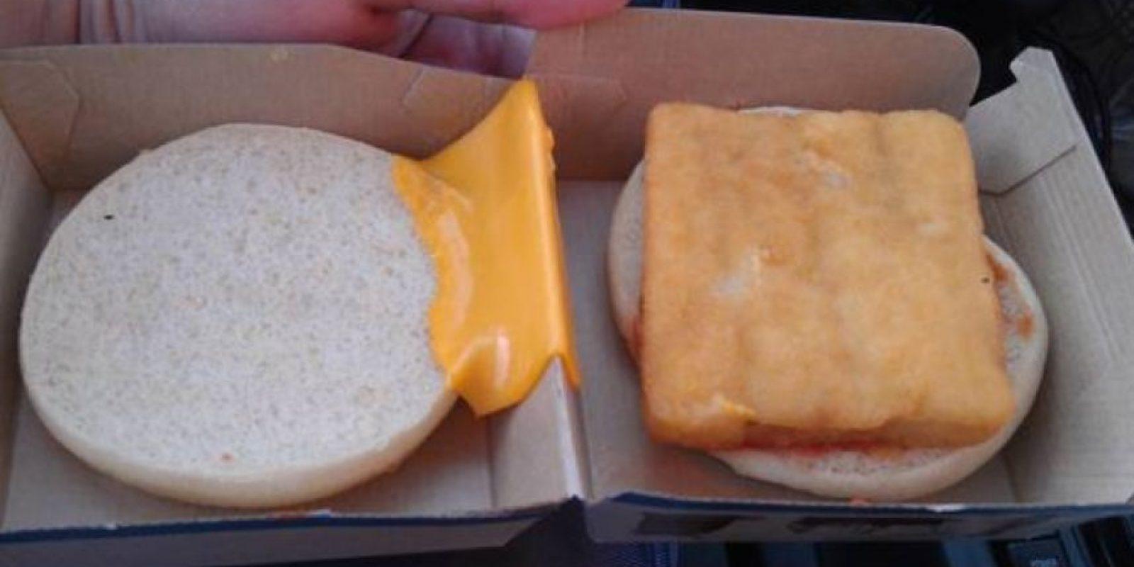 Tómenlo por el lado bueno. Se puede raspar el queso. Mejor no. Foto:Imgur