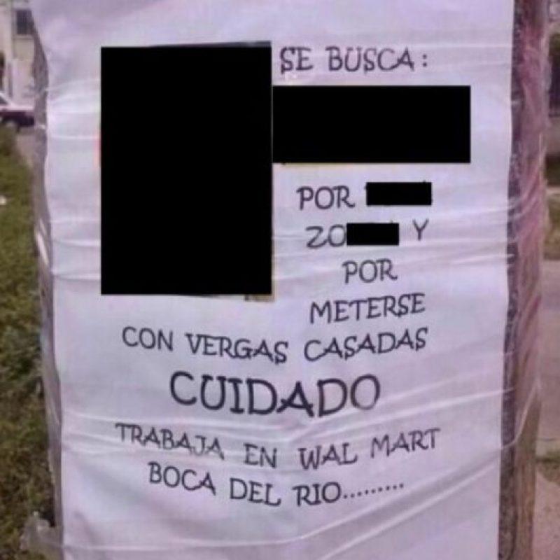 Advertir a los vecinos. Foto:Imgur