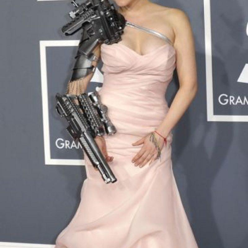 Sasha Gradiva se convirtió en la Terminatrix en su fiesta de graduación. ¿Carrie who? Fue en 2012. Foto:Getty Images