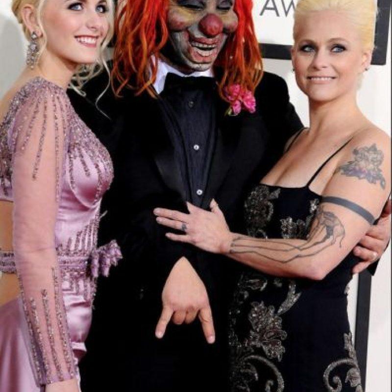 """Shawn Crahan, de Slipknot parece salido de """"Alicia en el País de las Maravillas"""". Foto:Getty Images"""