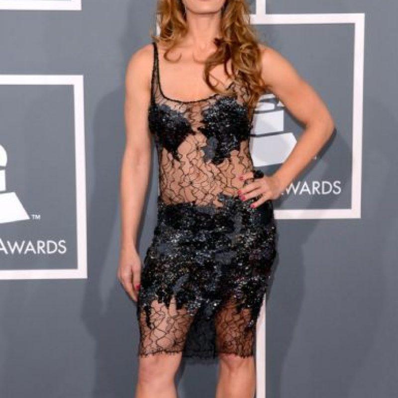 """D' Manti fue la prima """"bruja """" de Vilma Picapiedra en los Grammy de 2013 Foto:Getty Images"""