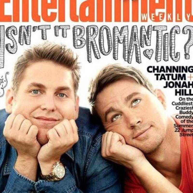Su bromance con Jonah Hill es increíble. Foto:Facebook/Channing Tatum