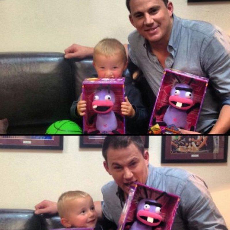 También es genial con los niños. Foto:Facebook/Channing Tatum