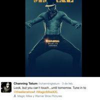 Como stripper nadie lo supera. Foto:Facebook/Channing Tatum