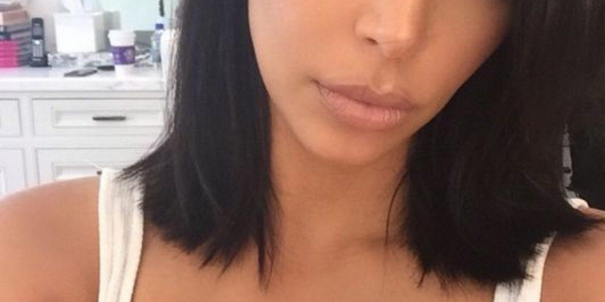 FOTO: ¡Adiós melena! Kim Kardashian estrena nuevo look