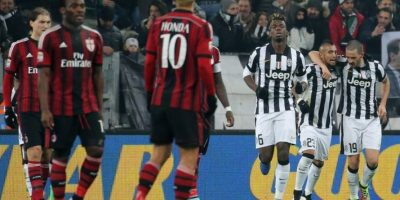 VIDEO. Bonucci casi se lesiona al celebrar un gol de la Juventus