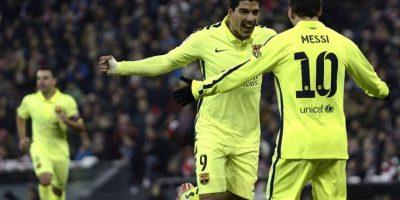 """El Barcelona le da una """"manita"""" a Athletic y acecha el liderato"""