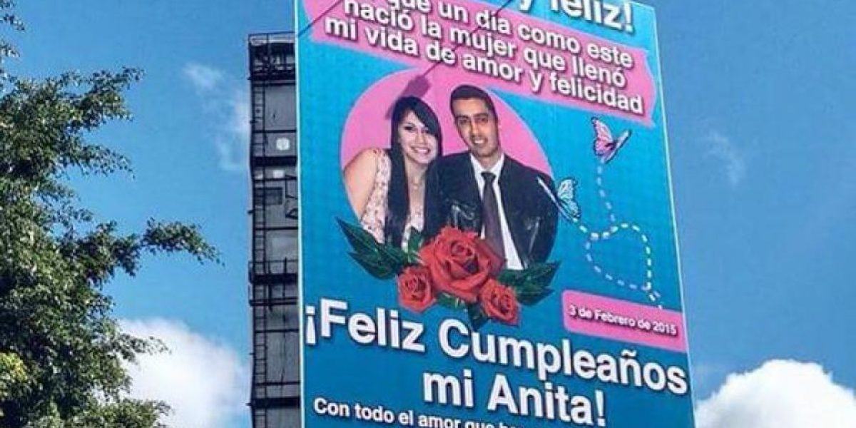 FOTOS. 4 razones sobre por qué la valla de Anita le salió una