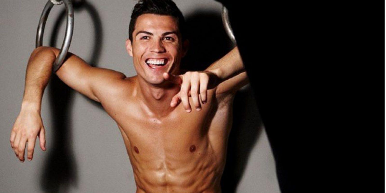 Cristiano Ronaldo modeló para su línea de calzoncillos. Foto:Instagram