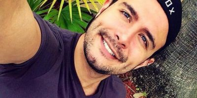 Diego Díaz, modelo Foto:Facebook