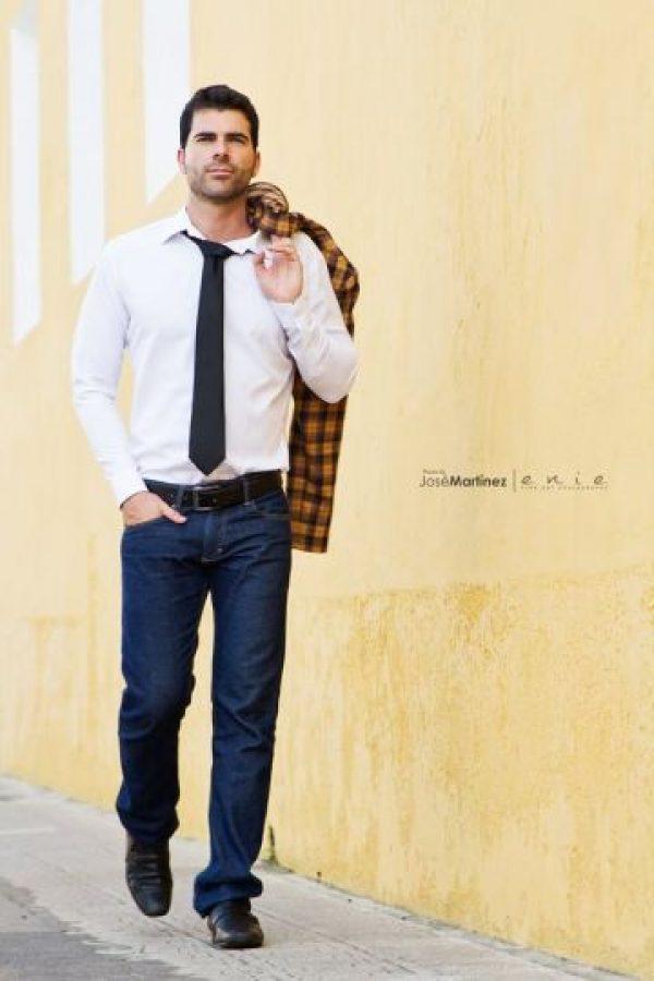 Mario Cuenca, modelo Foto:Facebook