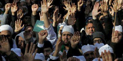 FOTOS: Miles de musulmanes protestan en contra de la libertad de expresión