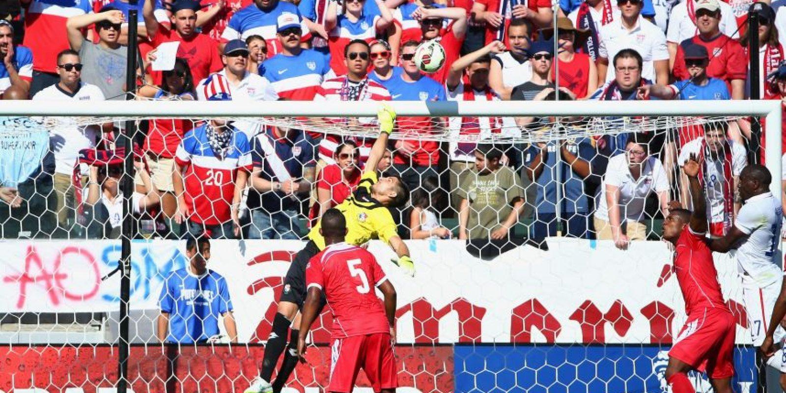 El exportero rojo encajó este tanto en el amistoso entre Panamá y EE. UU. Foto:AFP