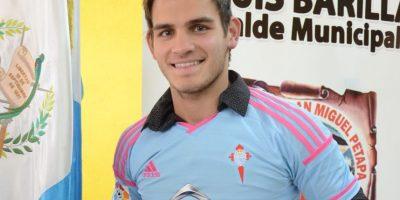 Jorge Baldizón asegura que trata de mantenerse enfocado en el futbol y lejos de la polémica por su fichaje por el Celta B. Foto:Publinews