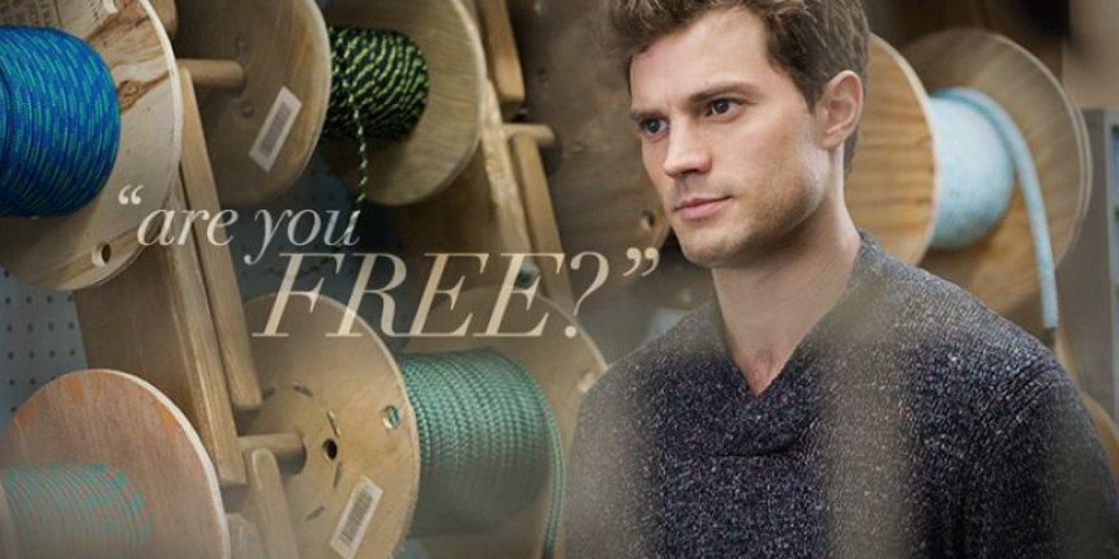 1.- Porque es guapo, increíblemente guapo Foto:Facebook/Fifty Shades of Grey