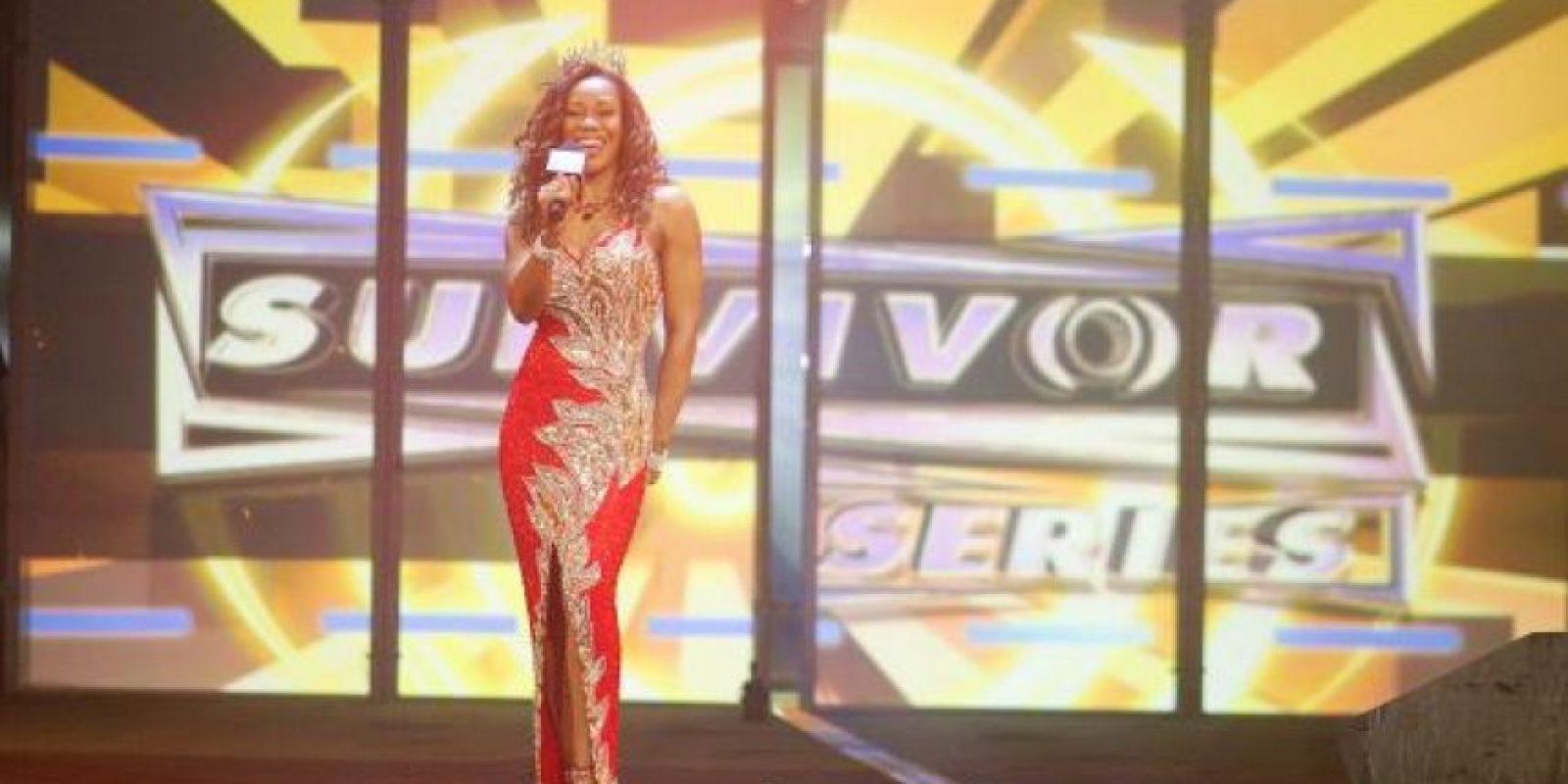 Era la pareja de Booker T Foto:WWE