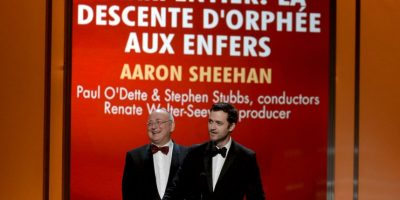 Mejor grabación de ópera: 'Charpentier: La Descente D'Orphée Aux Enfers' – Paul O'Dette & Stephen Stubbs Foto: Getty Images