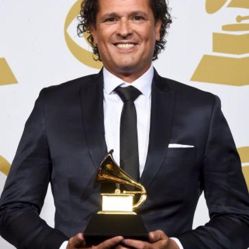 Mejor álbum latino tropical: 'Más + Corazón Profundo' – Carlos Vives Foto:Getty Images