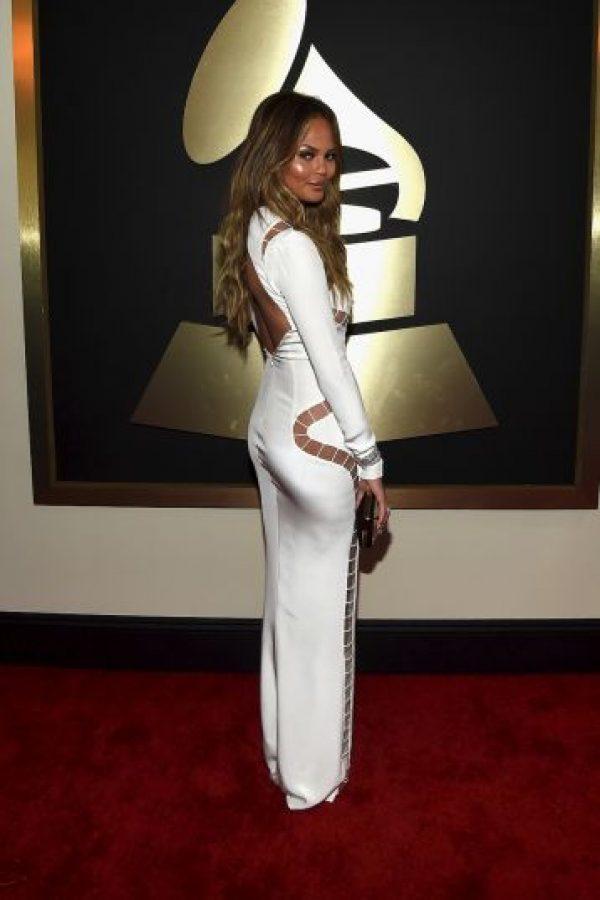 La angelita de Victoria's Secret estrenó un modelo más recatado Foto:Getty Images