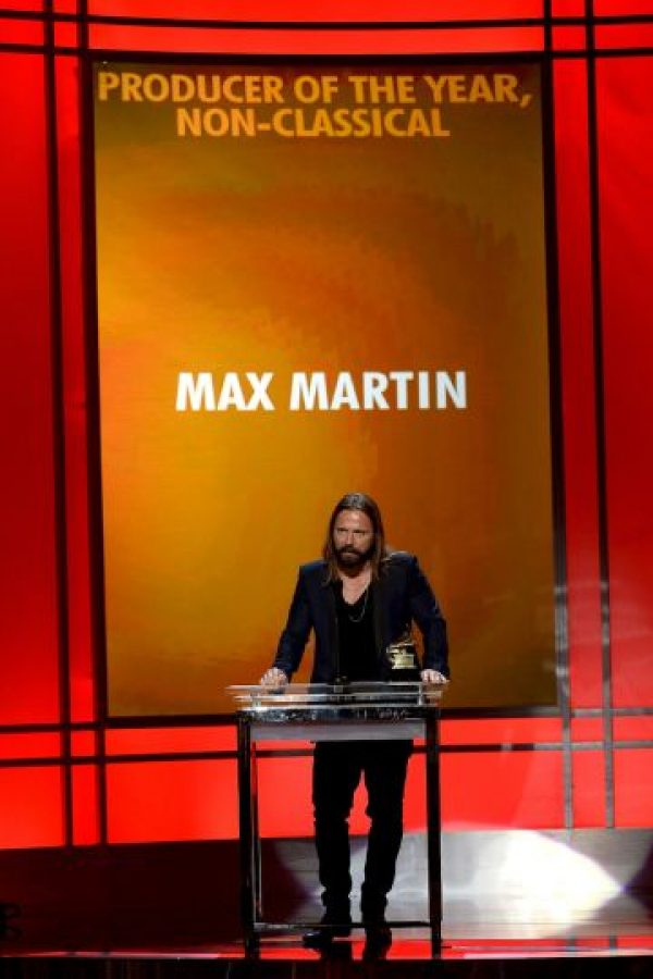 Productor del año no clásico: Max Martin Foto: Getty Images