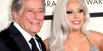 Mejor álbum tradicional vocal pop: 'Cheek to Cheek' – Lady Gaga y Tony Benett Foto: Getty Images