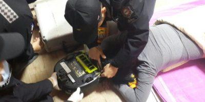 Sucedió en Changwon, en Corea del Sur Foto:Changwon Fire Service Headquarters