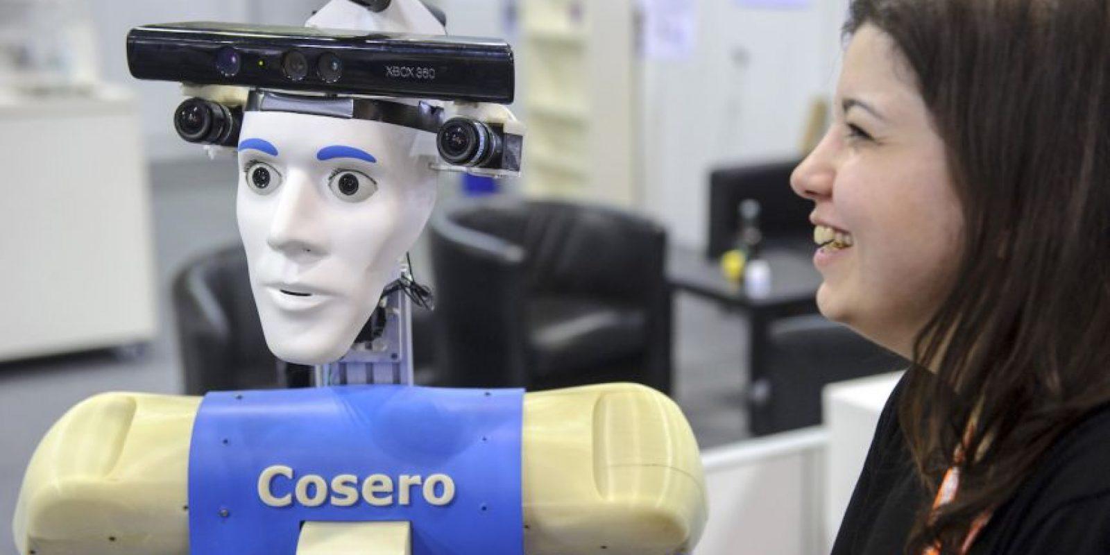Participante en el Torneo Alemán de Robótica Foto:Getty Images