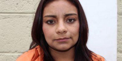 Brenda Francisca GonzálezSegura. Foto:PNC