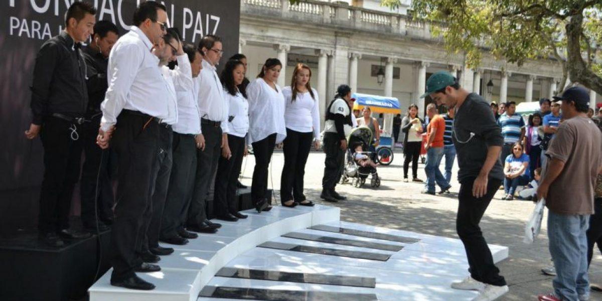 Fotos: Piano Vocal divirtió a los guatemaltecos en el Parque Central