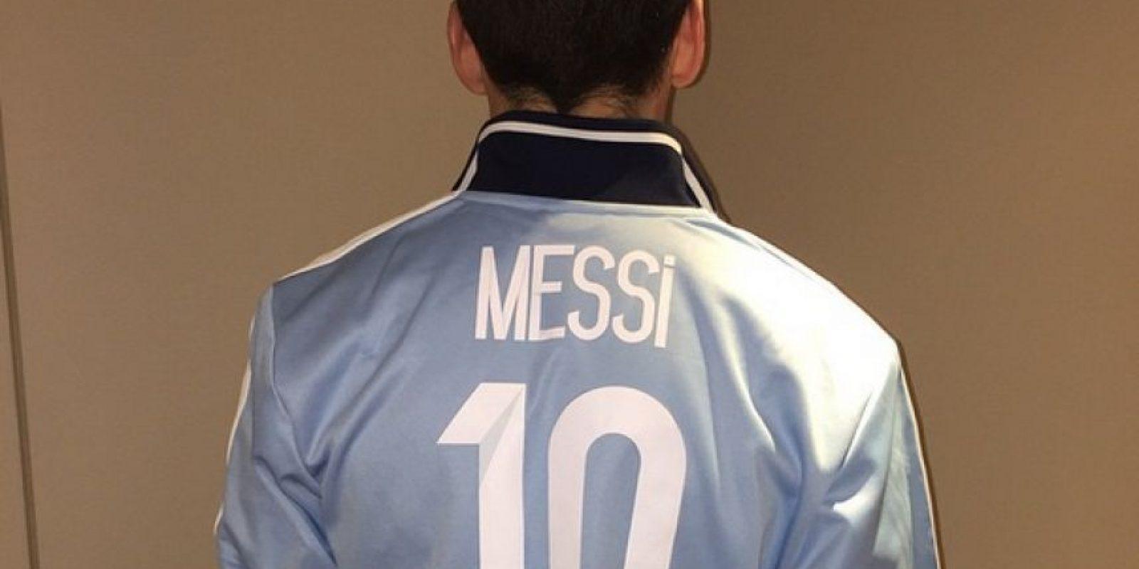 Esta es la imagen con la que Messi festejó haber superado los 10 millones de followers Foto:Instagram: @leomessi